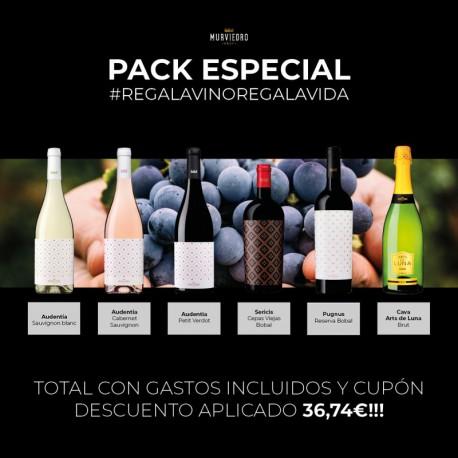 Pack Especial REGALA VINO REGALA VIDA