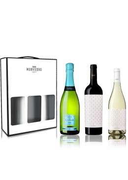 Estuche Murviedro - Pack 3 botellas