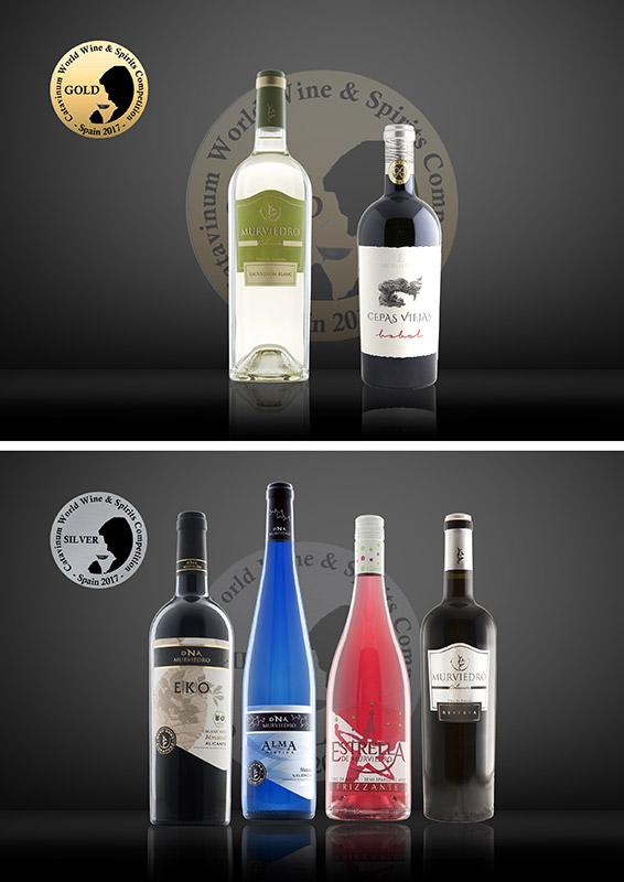 Oro y Plata Catavinum World Wine & Spirits Competition 2017