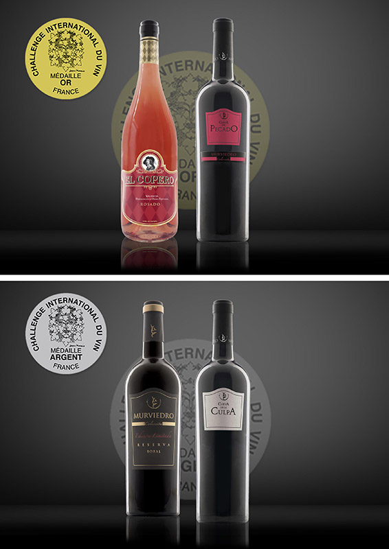 Oro y plata en Challenge International Du Vin