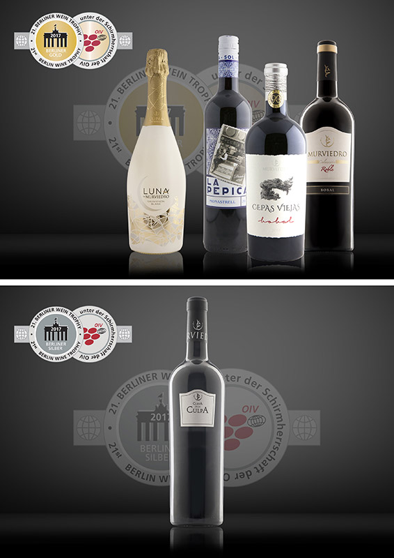 Oro y plata 21 Berlin Wine Trophy