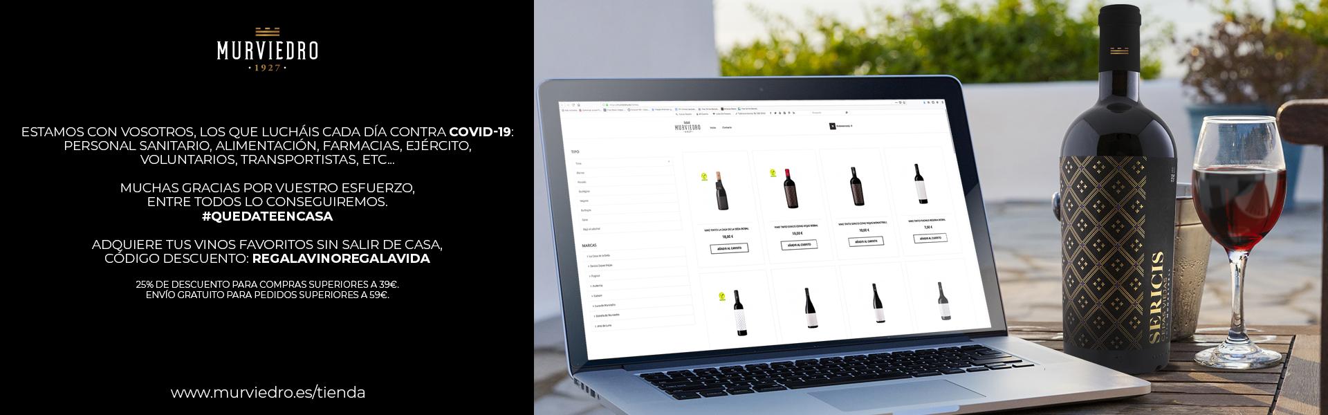 Compra vino en Bodegas Murviedro - Vino al mejor precio